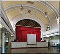 SJ9494 : Inside Hyde Town Hall by Gerald England