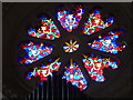 SS9700 : Rose window in the chapel at Killerton by Chris Allen