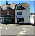 SX9688 : A D Holmes & Co, Fore Street, Topsham  by Jaggery