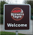 SK5143 : Brewers Fayre pub sign by JThomas