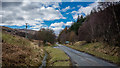 NM6830 : A849 near Strathcoil by Peter Moore