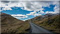 NM6230 : A849 in Glen More by Peter Moore