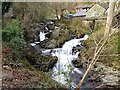 NY3606 : Falls on Rydal Beck by Andrew Curtis
