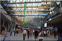 TQ3179 : Forecourt, Waterloo Station by N Chadwick
