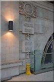 TQ3179 : County list, Waterloo Station by N Chadwick