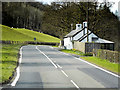 SO1141 : Northbound A470, Wyeside Cottages by David Dixon