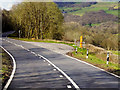 SO0745 : Layby on the A470, Wye Valley by David Dixon