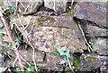 SN0114 : Ordnance Survey Cut Mark by Adrian Dust
