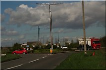 TA1914 : A1173-Kings Road roundabout, Immingham by Chris