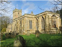 NZ2237 : The Church of St Brandon at Brancepeth by Peter Wood