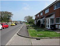 ST3050 : East along Shelley Drive, Burnham-on-Sea by Jaggery