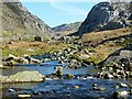SH6256 : Afon Nant Peris viewed upstream by Robin Drayton