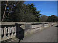 TA0388 : Balustrade of Glen Bridge, Scarborough by Stephen Craven
