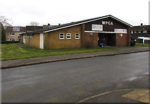 ST2896 : West Pontnewydd Community Association community centre, Cwmbran by Jaggery