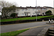 ST2896 : Houses above Maendy Way, Cwmbran by Jaggery