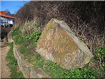 TA0390 : Heritage Coast stone by Stephen Craven
