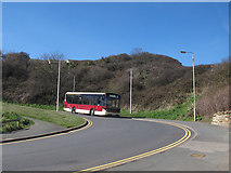 TA0390 : Number 3 bus approaching Scalby Mills by Stephen Craven