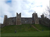 TM2863 : Framlingham Castle by Hamish Griffin