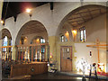 TA0388 : St Columba's Church, Scarborough - north aisle by Stephen Craven