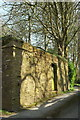 SX8648 : Listed wall by coast path by Derek Harper