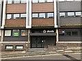 SJ8445 : Entrance to Keele House, Newcastle-under-Lyme by Jonathan Hutchins