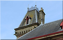NX4355 : Tower, Town Hall Wigtown by Billy McCrorie