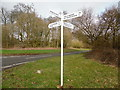SP8502 : Signpost near Great Hampden by David Hillas