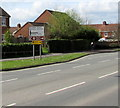 ST2938 : Western Way directions sign, Bridgwater by Jaggery