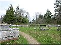 TQ4744 : St Peter, Hever: churchyard (iv) by Basher Eyre