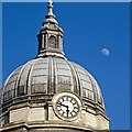 SK5739 : Council House dome and half moon by David Lally