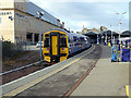 NH6645 : A Scotrail class 158 in platform 1 at Inverness by John Lucas