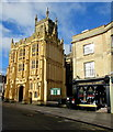 SP0202 : South side of Grade I Listed Cirencester Parish Church by Jaggery
