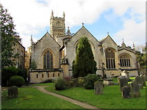SP0202 : East side of Grade I Listed Cirencester Parish Church by Jaggery