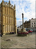 SP0202 : Cirencester War Memorial, Market Place, Cirencester by Jaggery