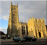 SP0202 : Grade I Listed Cirencester Parish Church by Jaggery