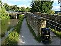 SE0841 : Swine Lane Bridge No 198 and footbridge by Mat Fascione