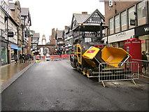 SJ4066 : Improvement Works in Foregate Street, Chester by Jeff Buck
