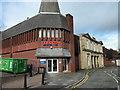 SJ4066 : Rear entrance to Tesco, Queen Street, Chester by Jeff Buck