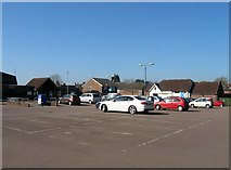 TQ2115 : Coopers Way Car Park, Henfield by Simon Carey