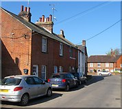 TQ2116 : North Cottages, Furners Lane, Henfield by Simon Carey