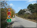 SU9765 : Burma Road, Longcross by Des Blenkinsopp