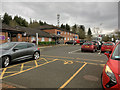 NS8088 : Travelodge and Car Park at Stirling Services by David Dixon