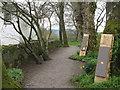 NN9018 : The Corbenic Poetry Path by M J Richardson