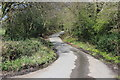 ST1498 : Lane near Gelligaer Court by M J Roscoe