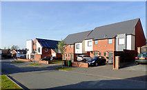 SO9096 : Sandringham Road in Penn, Wolverhampton by Roger  Kidd