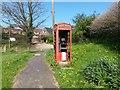 SU5405 : Fareham: forlorn phone box on Catisfield Lane corner by Chris Downer