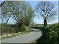SO9556 : Minor road towards Grafton Flyford by JThomas