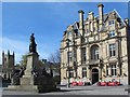 NZ2463 : The Stephenson Memorial and the Union Rooms, Westgate Road, NE1 by Mike Quinn