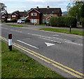 ST3095 : Llanyravon Way speed bumps, Llanyravon, Cwmbran by Jaggery