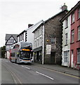 SH7401 : X28 bus on the A487, Machynlleth by Jaggery